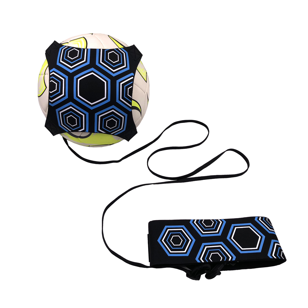 Adjustable Football Trainer Practice Belt Soccer Solo Training  Kick Ball Return Equipment Sports Assistance For Size 3/4/5 New