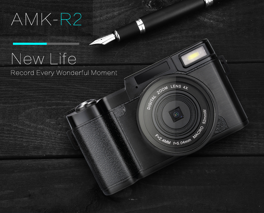 2017 Super 24Mp Max 8MP CMOS capteur 3 pouces écran Compact appareil Photo numérique professionnel appareil Photo 1080 P vidéo 800 mah batterie - 6