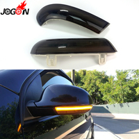 Smoked For VW GOLF 5 GTI V MK5 Jetta Passat B5.5 B6 Sharan Superb EOS Dynamic LED Turn Signal Light Side Wing Mirror Indicator