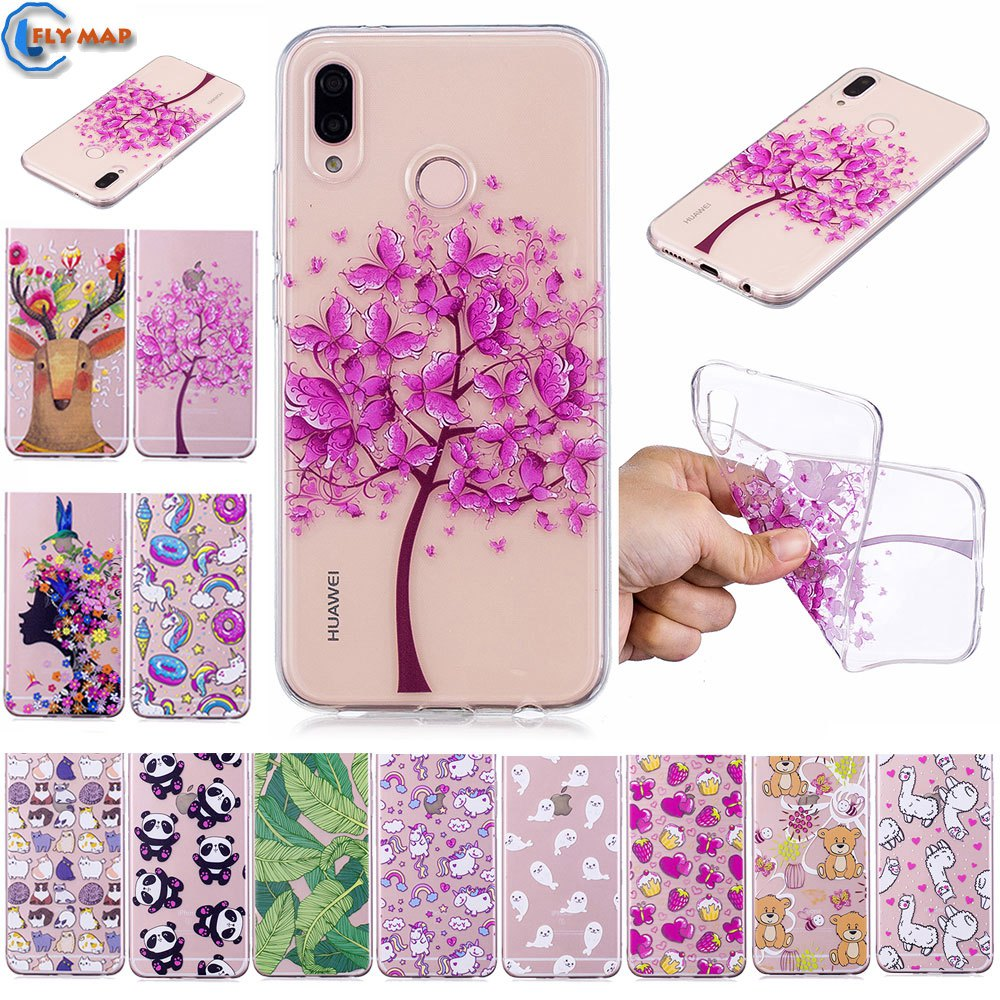 Fitted Case for Huawei Nova 3e ANE-AL00 ANE-TL00 ANE-L21 Soft TPU Cover Mobile Phone Case for Huawei Nova 3 e ANE AL00 TL00 L21