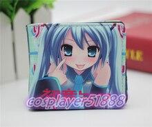 Japan font b anime b font Hatsune miku wallets font b cosplay b font cartoon Bifold