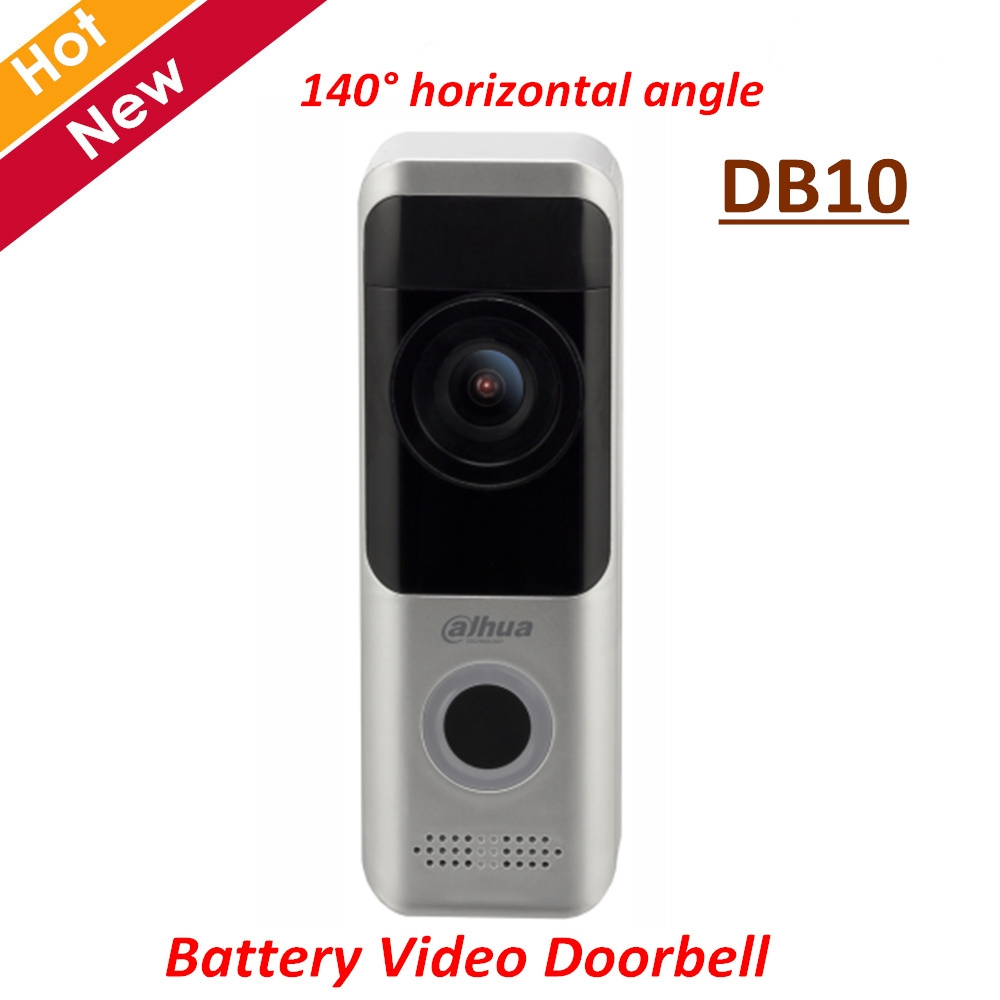 Dahua Battery Video Doorbell DB10 Wire-free Installation Wi Fi Connection Up To 1080P HD Video Talk With 140 Degree Angle