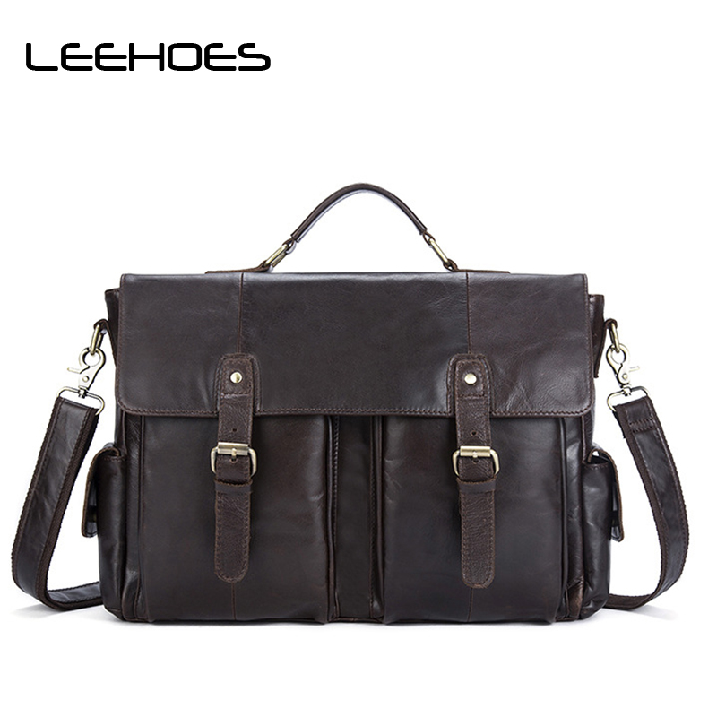 915d139b7578 Men Casual Briefcase Genuine Leather Bag Business Shoulder Bag High  Capacity Computer Laptop Handbag Men's Travel Office Bags. 10830.64 руб.