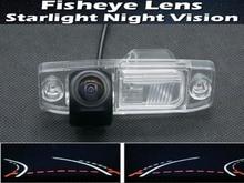1080P Fisheye Trajectory Tracks Car Rear view Camera for Kia Sorento 2004-2011 Borrego 2009-2013 Rio K3 2013 2014 Sportage R цены онлайн
