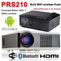 S210 Dinámico HDMI 1080 P Full HD Proyector Android 4 K LED de Cine En Casa 3D WIFI Bluetooth para Hablar De Negocios cine de Educación