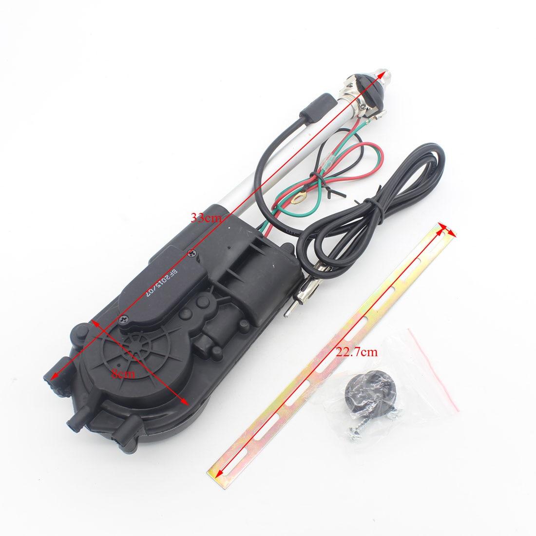 1X Universal Auto Car Aerial Antena Electric Radio Antenna Automatic ...