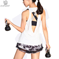 Hot Women's Tank Tops Sleeveless Temperament Workout Quick Dry Breathable Clothes Fitness T-shirt
