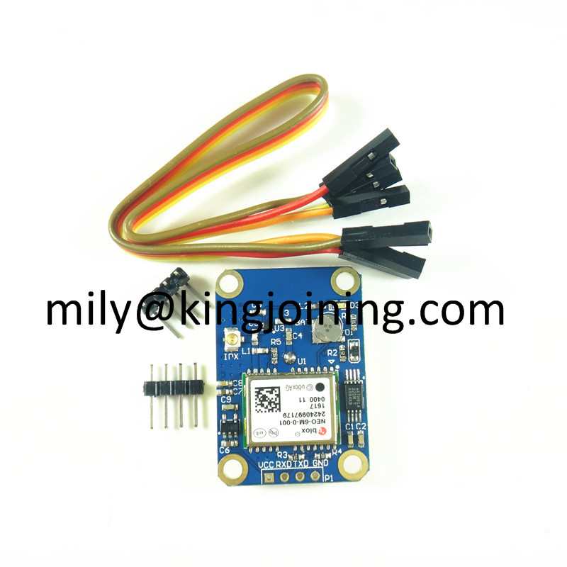 Ublox NEO-6M GPS module for modular aircraft flight controllers compatible with