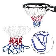 Goal rim hoop thick basketball mesh net nylon blue red sale