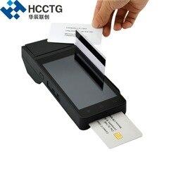 HCCZ90 4G urządzenie płatnicze WIFI GPRS Bluetooth NFC chip rfid czytnik kart magnetycznych z drukarką EMV inteligentny terminal android pos