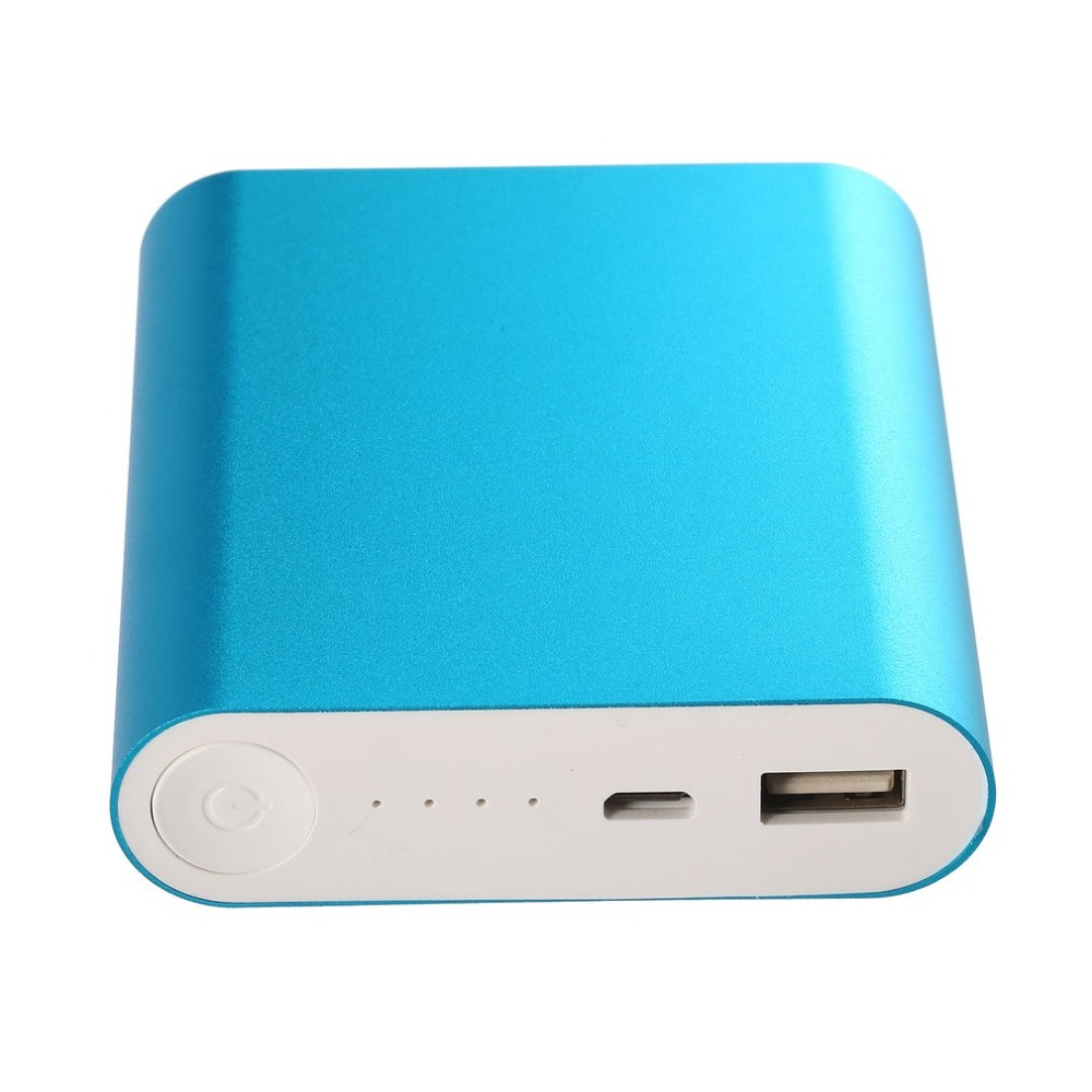 Wopow Portable Power Bank Rated Capacity 10400mAh Actual Capacity 6000mAh External Li-ion Battery Quickly Charge for Smart Phone