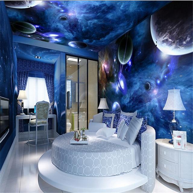 Beibehang World 3d Personalized Custom Theme Restaurant