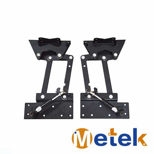 Flip Top Table Mechanism Folding Hinge Dining Frame B-102 lift up Top Coffee table Hardware Furniture Hinges Gas