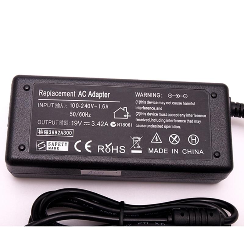 19 В 3.42A 5.5X2.5mm Зарядное устройство для - Аксессуары для ноутбуков - Фотография 3