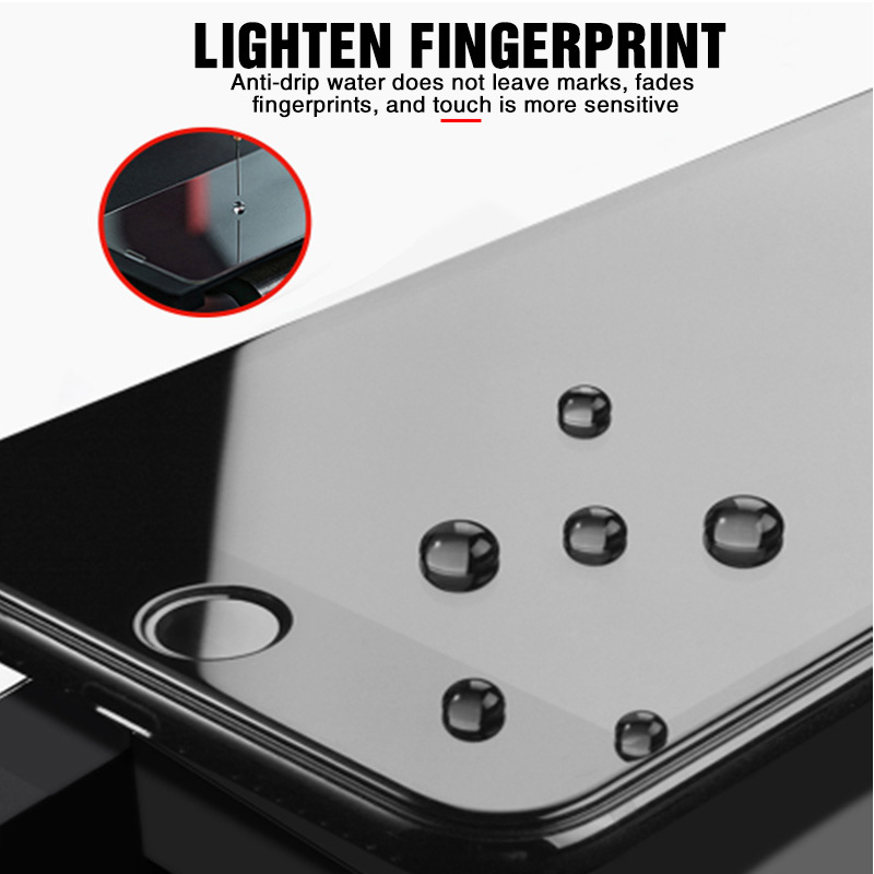 100D Curved Edge Full Cover Protective Glass On The For iPhone 7 8 6 6S Plus Screen Protector On X XR XS Max 5 SE 5S Glass Film