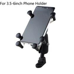Telefon uniwersalny regulowany motocykl motor uchwyt na telefon rowerowy odporny na wstrząsy uchwyt na kierownicę do Iphone 7 Plus Xiaomi Hold Stand