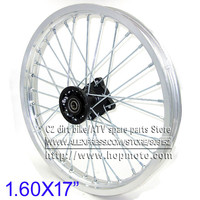 1.60x 17 inch Front Rims Aluminum Alloy Disc Plate Wheel Rims 1.60 x 17inch for KLX CRF KTM Kayo Apollo BSE Pit Bike Dit Bike