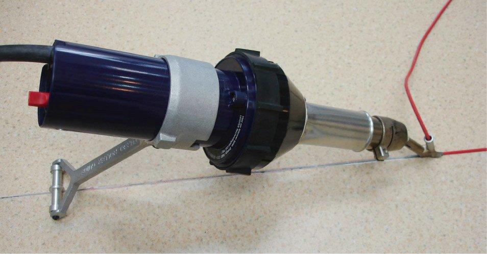 WELDY 1600W hőlégpisztoly állvánnyal / - Elektromos kéziszerszámok - Fénykép 1