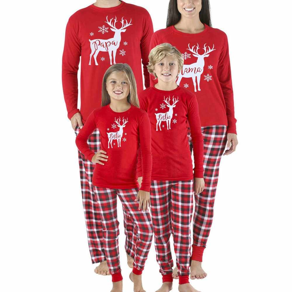 3b39fdb1b Detail Feedback Questions about 2019 Family Pajamas Matching ...