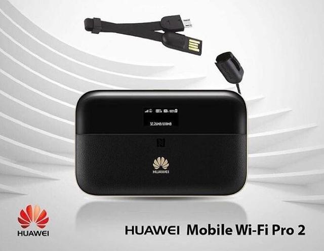 Huawei E5885Ls-93a WiFi móvil Pro2 Router RJ45 Puerto 4G + FDD: b1/B2/B3/B4/B5/B7/B8/B20/B19 TDD: b38/B40/B41 (2555-2655 MHz), 6400 Mah