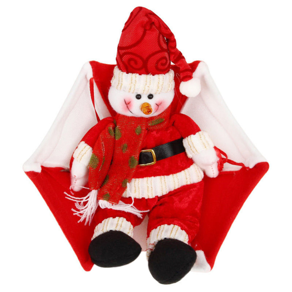 Christmas tree hanging decorations new parachute santa claus snowman - Aliexpress Com Buy Snowman Decoration Ornament Parachute Santa Claus Doll Christmas Decoration Pendant Home Decor Christmas Toys From Reliable Toys Toys