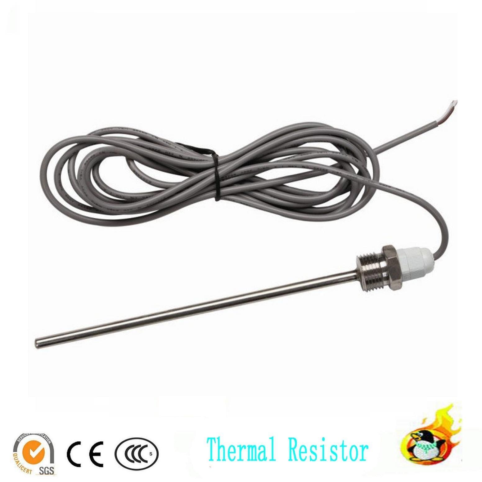 Resistance Thermometer Ntc 10k Sensor B Dia 6mm For Solar Hot Water Temperature Sensation