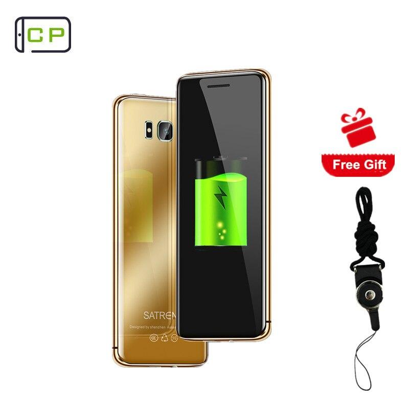 Orijinal S10 Ultra Ince Cep Telefonu Lüks Tasarım Dokunmatik Anahtar Bluetooth Dialer anti-kayıp FM Mp3 Çift SIM Kart GSM mini Cep Telefonu