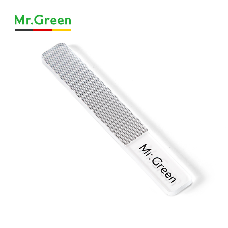 Image 3 - MR.GREEN nail file Nanometer Glass file Professional Nail Polishing Manicure Nail Art Tools Pedicure with a metal box-in Nail Files & Buffers from Beauty & Health