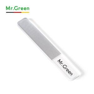 Image 3 - MR.GREEN пилка для ногтей нанометровая стеклянная пилка профессиональный маникюр с полировкой инструменты для дизайна ногтей педикюр