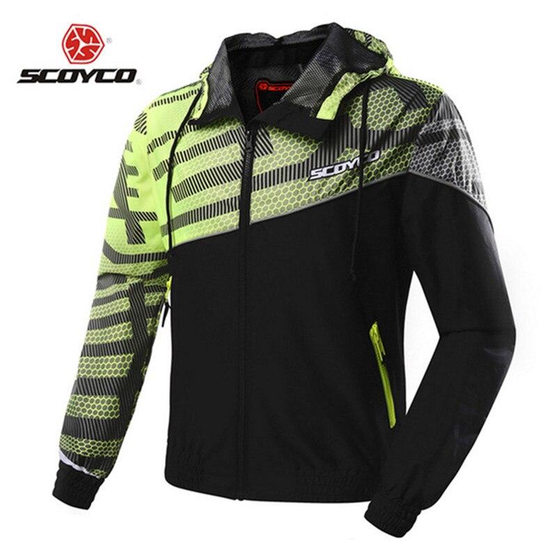 SCOYCO veste de Moto été respirant maille réfléchissant imperméable course tout-terrain Motocross équipement Moto veste vêtements