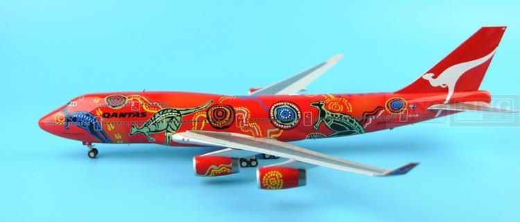 Offer: Wings XX2922/2923 Special JC Australian aviation B747-400 kangaroo dream 1:200 commercial jetliners plane model hobby