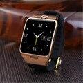 2016 Новый LG128 Smart Watch носимых с NFC, GPS Поддержка Sim-карты 1,3-мегапиксельной камерой Удаленного Захвата Sleep Monitor Наручные Часы