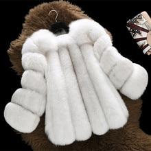 ريال معطف الثعلب موضة