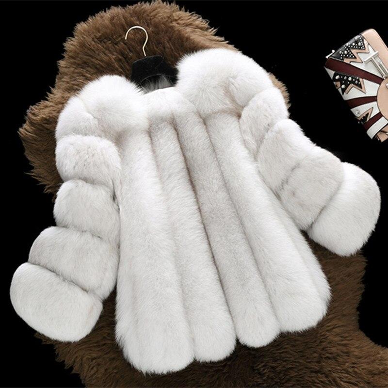 FURSARCAR Hiver Femmes Réel Fourrure De Renard Manteau Épais entier Court Naturel Fourrure De Renard Femelle Veste Nouvelle Mode Dame Chaud Russie manteau de fourrure