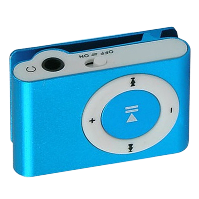 цена на Portable MP3 Player Mini Clip MP3 Player with TF Slot Jack Nice Sound Gift Waterproof Sport MP3 Music Player Walkman (MP3 Only)