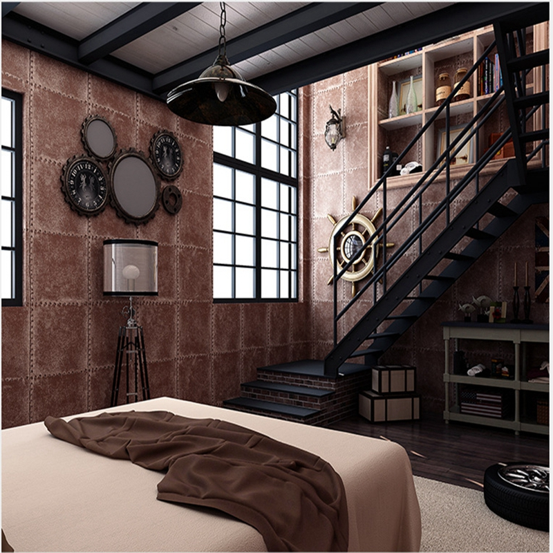 Wallpapers YOUMAN Modern Solid Color Linen All match Dormitory Living Room Bedroom Wallpaper Cafe Restaurant Walls