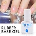 TRY NAIL Top Quality Transparent Rubber Base Gel Soak Off Clear Base Coat Long Lasting UV Nail Gel Polish Professional Nail Art