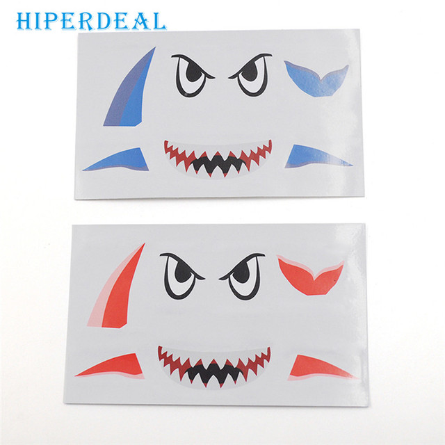 HIPERDEAL Factory Price Shark decoration Waterproof Decal Skin Sticker for DJI Mavic Pro RC Drone 0412 drop shipping