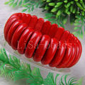 "Free Shipping New without tags Fashion Jewelry Stretch Red Turquoise Bracelet 8"" 1Pcs RH623"