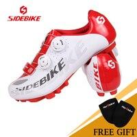 SIDEBIKE Велосипедный Спорт Велоспорт горный велосипед гонки Обувь спортивная для девочек MTB дорожный велосипед Вело обувь нейлон ТПУ подошвы