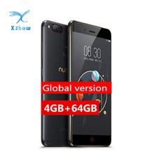 "Orijinal Küresel Sürüm Nubia Z17 Mini telefonlar 5.2 ""4 GB 64GB Snapdragon MSM8976 Octa Çekirdek Çift Arka Kamera parmak izi 1920*1080"