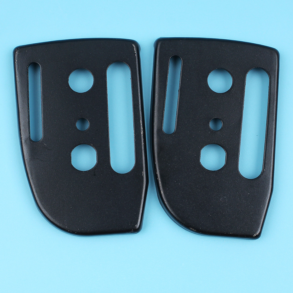2 X Guide Bar Mounting Plate For HUSQVARNA 36 41 136 137 141 142 Chainsaw Replacment Spare Parts 530 047 855