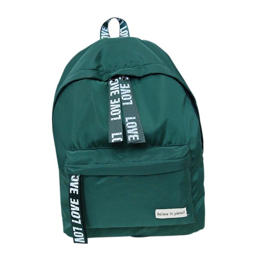 Cristiano Ronaldo Girls Backpack Boys Letter School Travel Backpacks Women Shoulder Rucksack Mochilas Mujer 2018#20