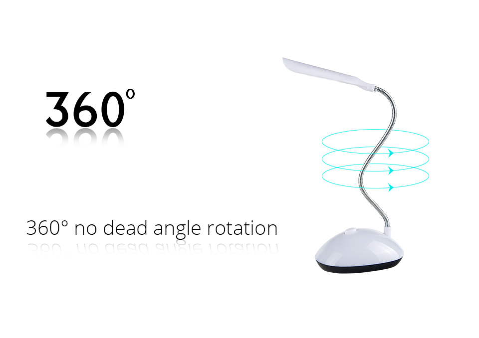 EeeToo Battery Powered Night Light Luminaria LED 360 Degree Rotating Table Lamp Eye Protection Reading Book Lights for Children (5)