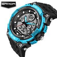 Sanda Watch Women Luxury Brand Fashion Casual Sport Digital Quartz Watches Relojes Mujer Women Dress Wristwatches