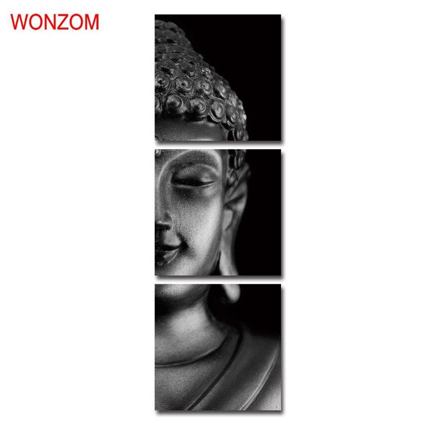 ✓Enmarcado Buda meditación lienzo poster Joss poster vintage pared ...