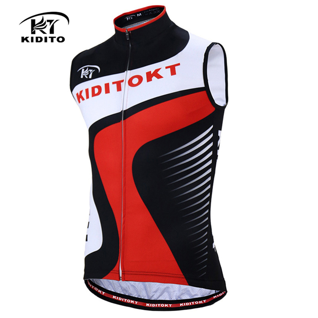 KIDITOKT 2018 Summer Men Sleeveless Cycling Jersey Quick Dry MTB Bike  Waistcoat Cholthing Racing Vest Clothes Ropa Ciclismo 1cd5b6a1f