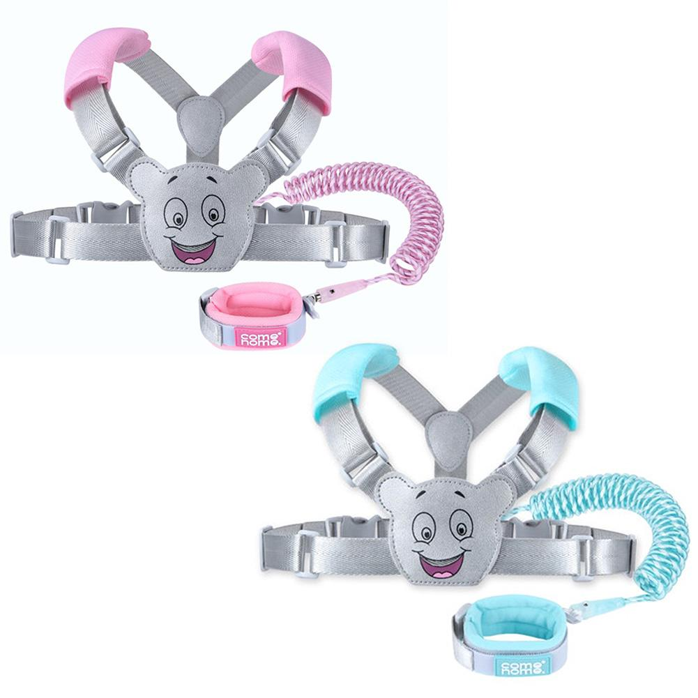 New 2.5M Child Safety Leash Adjustable Anti Lost Traction Rope Strap Bracelet 2 In 1 Leash Wristband Belt For  Baby