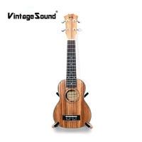 Ukulele 21 Inches Concert Soprano Tenor Acoustic Ukelele 15 Fret 4 Strings Mini Guitar Zebrawood Musical
