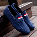 AD AcolorDay New Arrival Fashion Cheap Loafers Moccasins Men Suede Fabric Solid Light Mens Shoes Casual Slip on Faux Suede Shoes